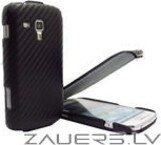 Samsung S7560/S7562/S7580/S7390 Galaxy Trend/Galaxy/Duos/Plus Carbon Leather
