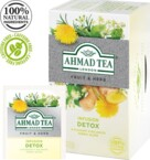 Ahmad Tea 20Alu. Herbal Tea. Detox