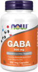 Now Foods GABA 500 mg 200