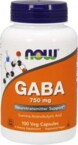Now Foods GABA 750 mg 100
