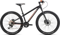 Velosipēds ORBEA MX 24 TEAM-DISC black/orange