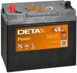 DETA POWER DB-455 12V/45Ah/330A 234x127x220 +/-