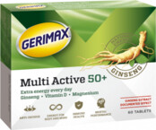 GERIMAX MULTI ACTIVE 50+, tabletes, 60