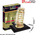Cubic fun CubicFun LED 3D puzle