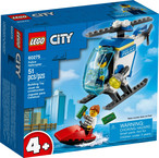 LEGO CITY Policijos helikopters 60275 (60275L)