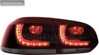 ProTuning Golf VI 08+ LED  red/smoke_R-Look