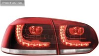 ProTuning Golf VI 08+ LED  red/crystal_R-Look